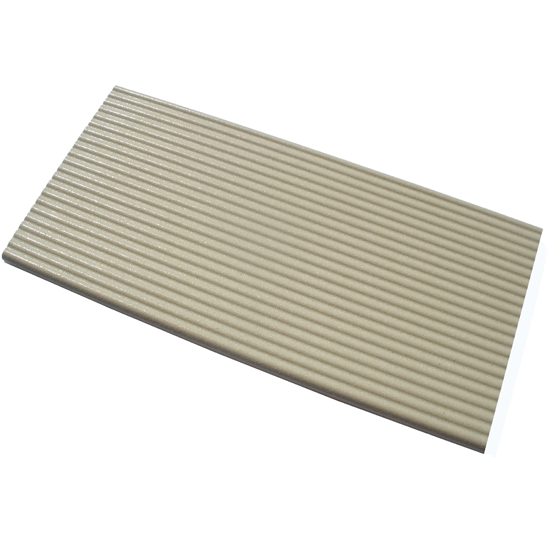 Pool tile 3130 -ivory ribbed
