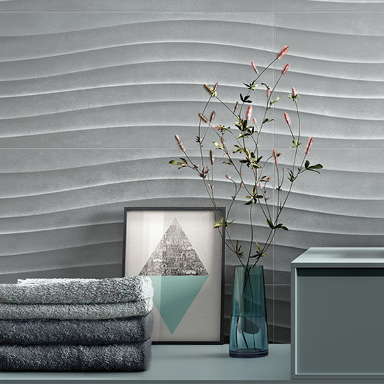 Pastello Grey Wave in use