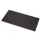 Pool Tile 3136 – all black ribbed nosing