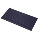Pool tile 3136 – all dark blue ribbed nosing